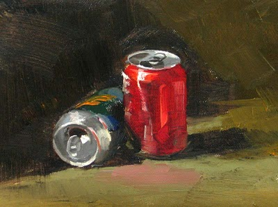 """Party is Over"" original fine art by Qiang Huang"