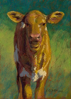"""Cony"" original fine art by Rita Kirkman"