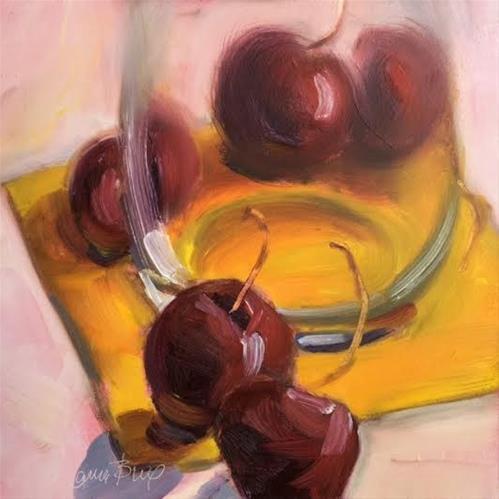 """Looking through the Glass 486"" original fine art by Laura  Buxo"