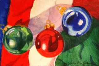 """Feliz Navidad"" original fine art by JoAnne Perez Robinson"
