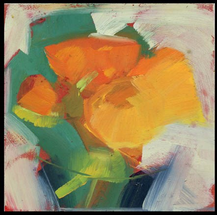 """2531 Glimmer Through"" original fine art by Lisa Daria"