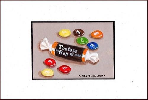 """""""Spare Candy"""" original fine art by Patricia Ann Rizzo"""
