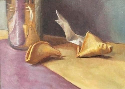 """16 - Fortune Cookies"" original fine art by Edward Watson"