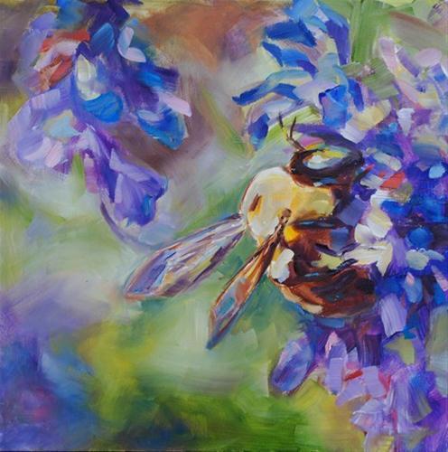 """Small Wonders"" original fine art by Carol DeMumbrum"