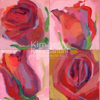 """An Auction to Benefit The SAMFund"" original fine art by Kimberly Santini"