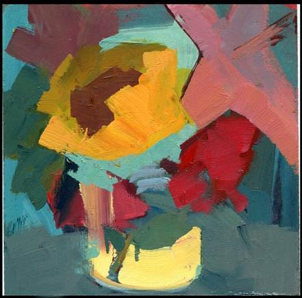 """""""2574 Fennel"""" original fine art by Lisa Daria"""