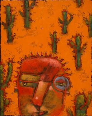 """Dry Heat"" original fine art by Brenda York"