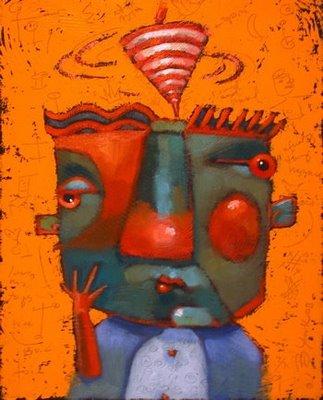 """Spin Doctor"" original fine art by Brenda York"
