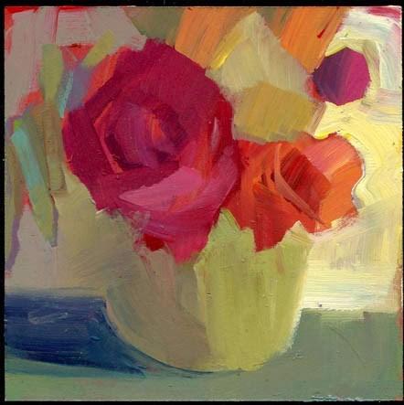 """""""1960 celery root"""" original fine art by Lisa Daria"""
