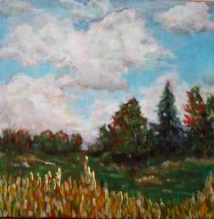 """""""Fall"""" original fine art by Maggie Flatley"""