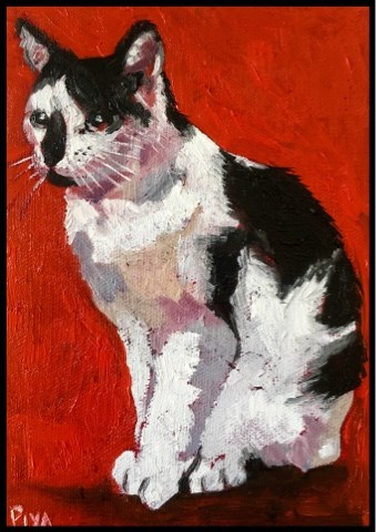 """Jasper"" original fine art by Piya Samant"