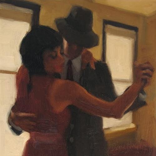 """""""The Dance"""" original fine art by Diane Hoeptner"""