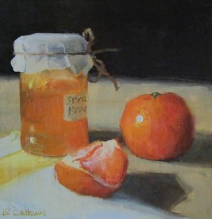 """Orange Marmalade"" original fine art by Liz Balkwill"