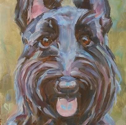 """Lilly"" original fine art by Carol DeMumbrum"