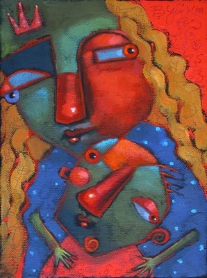 """Small Fry"" original fine art by Brenda York"
