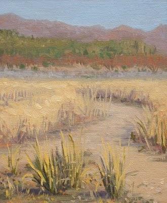 """San Pedro River Valley Bird Sanctuary"" original fine art by Abbey Ryan"