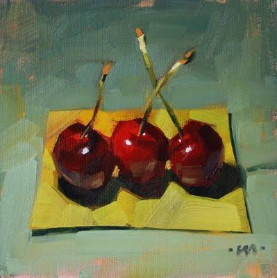 """""""Best Buds"""" original fine art by Carol Marine"""