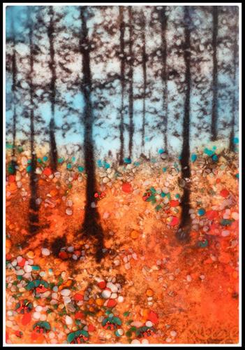 """Forest Edge"" original fine art by Kelly Alge"