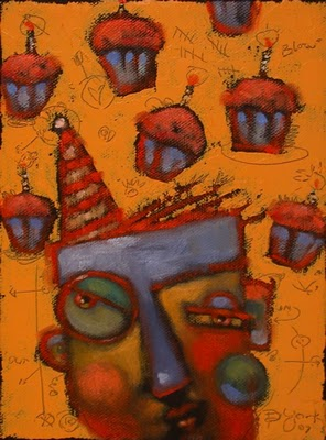 """Make A Wish"" original fine art by Brenda York"