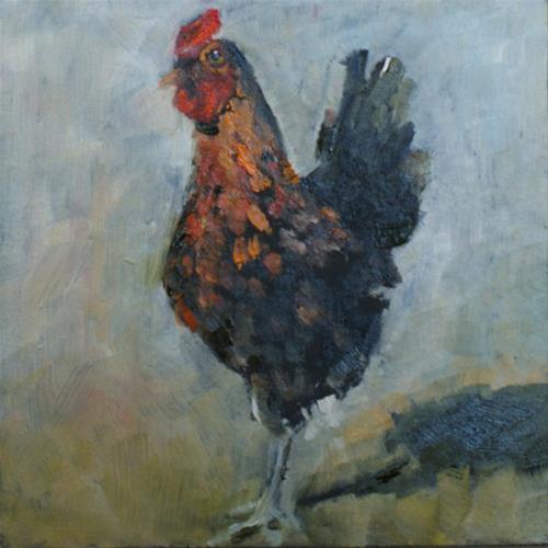 """Bantum"" original fine art by Sue Churchgrant"