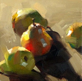 """""""Color Behind Light --- Sold"""" original fine art by Qiang Huang"""