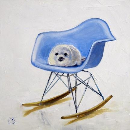 """rock-a-bye, baby"" original fine art by Kimberly Applegate"