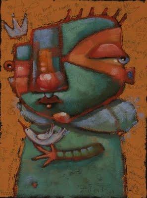 """Prince Liftoff"" original fine art by Brenda York"