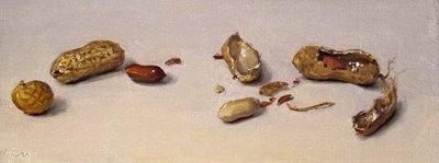 """Peanuts"" original fine art by Abbey Ryan"