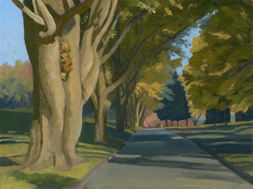 """Laurel Hill"" original fine art by Nancy Herman"