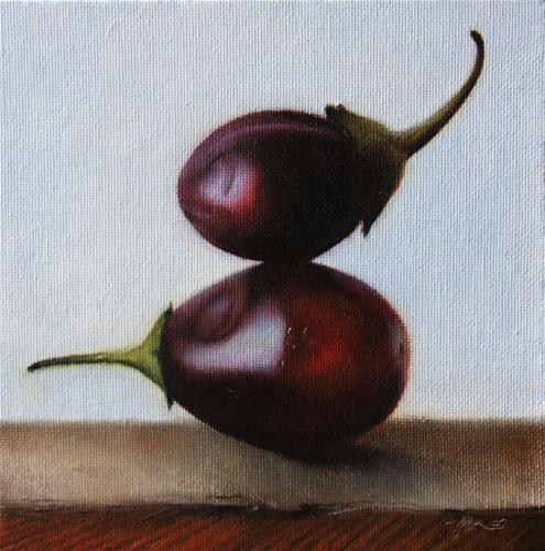 """""""Balancing Act"""" original fine art by Jonathan Aller"""
