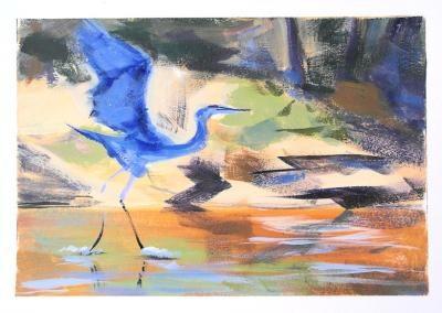 """Taking Flight"" original fine art by Jamie Williams Grossman"