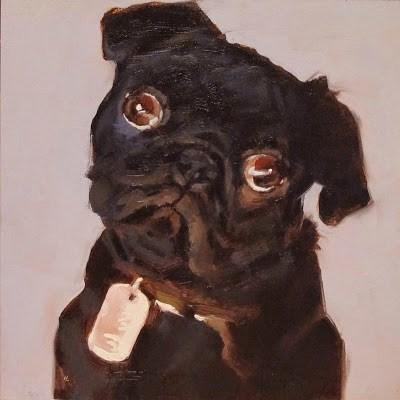 """""""BOB ( Robert )"""" original fine art by Helen Cooper"""
