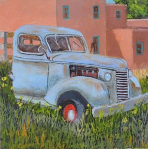 """Taos Truck"" original fine art by Robert Frankis"