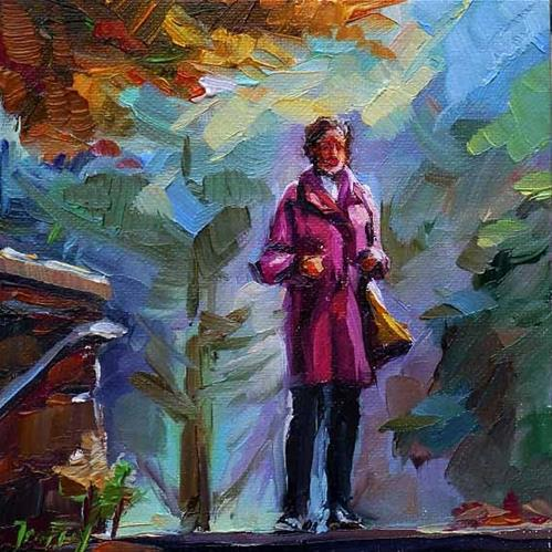 """autumn"" original fine art by Jurij Frey"