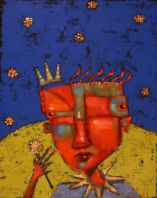 """Dandy Lion"" original fine art by Brenda York"