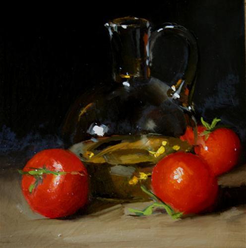 """Just Picked"" original fine art by Liz Balkwill"