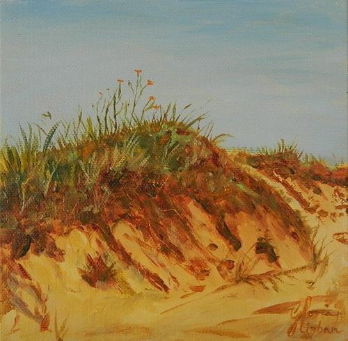 """Lilies on the Dune"" original fine art by Gloria Urban"