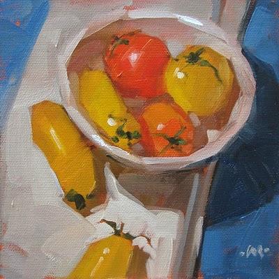 """In Plain Sight"" original fine art by Carol Marine"