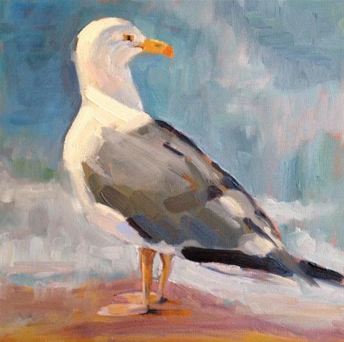 """Coastal Life"" original fine art by Deborah Newman"