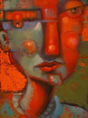 """""""Vacant Stare"""" original fine art by Brenda York"""