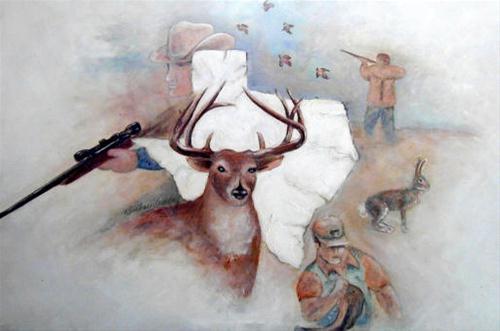"""""""Original Texan"""" original fine art by Barbara Lemley"""