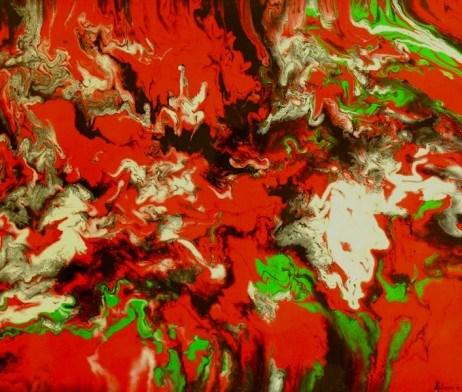 """Begins in a Moment"" original fine art by Khrystyna Kozyuk"
