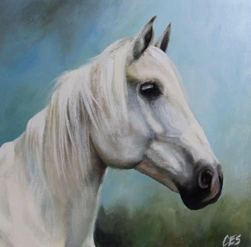 """""""Shades of Grey"""" original fine art by ~ces~ Christine E. S. Code"""