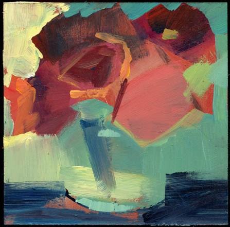 """2386 Winterbloom"" original fine art by Lisa Daria"