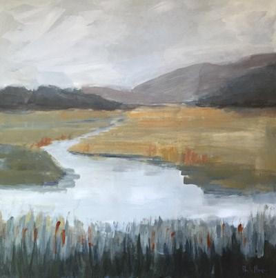 """""""Buckhorn"""" original fine art by Pamela Munger"""