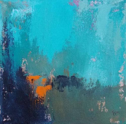 """In the Woods"" original fine art by Pamela Munger"