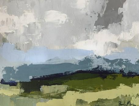 """Mountain Greenery"" original fine art by Pamela Munger"