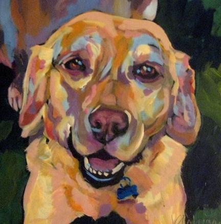 """Ruby"" original fine art by Kat Corrigan"