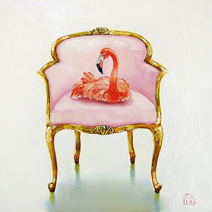 """pretty in pink"" original fine art by Kimberly Applegate"