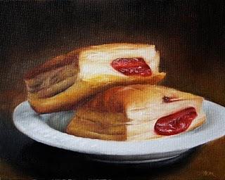 """Guava Pastries"" original fine art by Jonathan Aller"